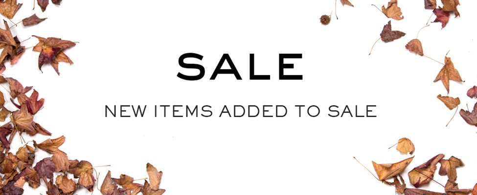 New Sale Items Added