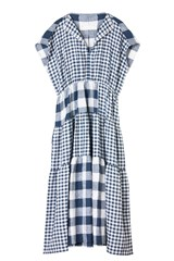 Mimi Dress Mixed Gingham