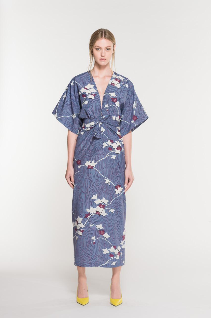 Cassa fashion maxi dress