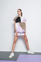 Patchwork Linen Top